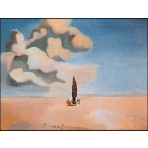 【アートポスター】我が従姉妹のカロリネッタの亡霊 600×800mm ダリ|poster
