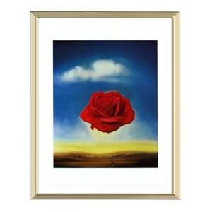 -サルバドール・ダリ アルミ額装ポスター-記憶の固執(300×380×7.5mm) -おしゃれインテリアに- poster