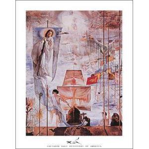 【アートポスター】クリストファー・コロンブスのアメリカ発見(560×710mm) ダリ|poster