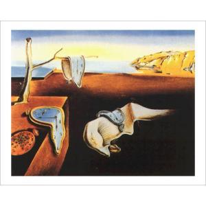 -ダリ アートポスター-記憶の固執 (70cm×100cm) サルバドール・ダリ -おしゃれインテリアに-|poster