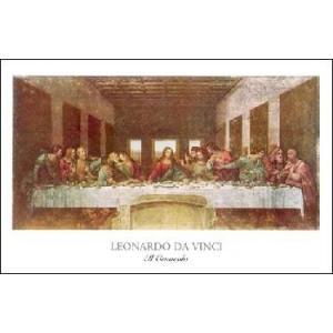 【アートポスター】 最後の晩餐 400×535mm レオナルド・ダ・ヴィンチ|poster