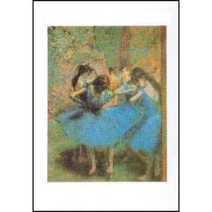 【アートポスター】 青い踊り子 (24cm×30cm) エドガー・ドガ|poster
