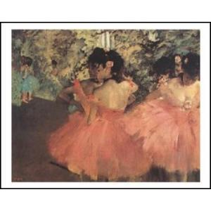 【アートポスター】 赤い踊り子 (40cm×50cm)  エドガー・ドガ|poster