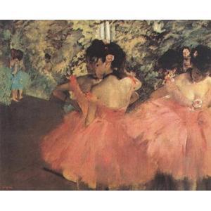 【アートポスター】 赤い踊り子 (60cm×80cm) エドガー・ドガ|poster