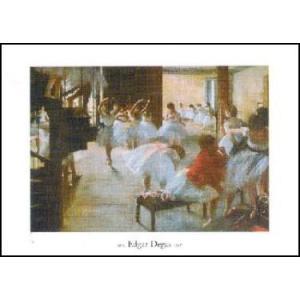 【アートポスター】 ダンス教室 (40cm×50cm) エドガー・ドガ|poster