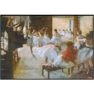 【アートポスター】 ダンス教室 (60cm×80cm) エドガー・ドガ|poster