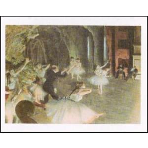 【アートポスター】 バレーの舞台稽古 (60cm×80cm) エドガー・ドガ|poster