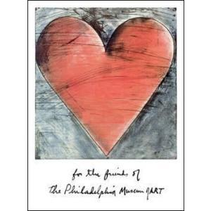 【アートポスター】 ジム・ダイン The Philadelphia Heart(510×687mm)|poster