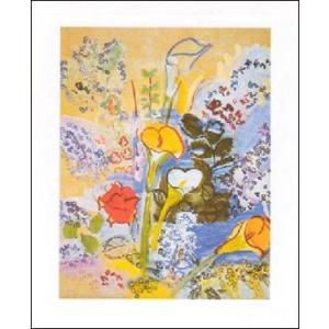 【アートポスター】 ブーケ (40cm×50cm) ラウル・デュフィ|poster