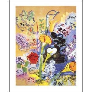 【アートポスター】 ブーケ(24cm×30cm) デュフィ|poster