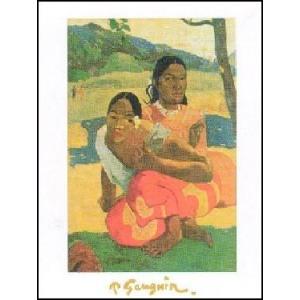 【アートポスター】 いつ結婚するの?( 50cm×70cm) ポール・ゴーギャン|poster