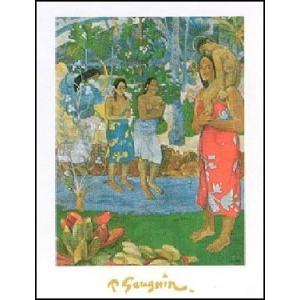 【アートポスター】 めでたしマリア (50cm×70cm) ポール・ゴーギャン|poster