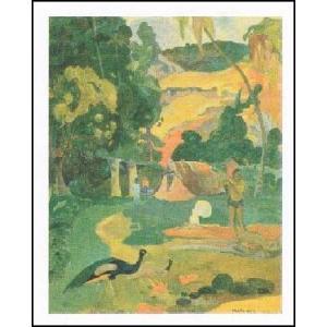 【アートポスター】 マタモエ (50cm×70cm) ポール・ゴーギャン|poster