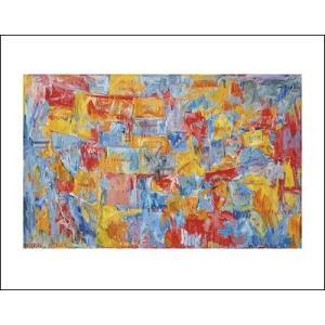-ジャスパー・ジョーンズ アートポスター-Map(281×358mm) -おしゃれインテリアに- poster