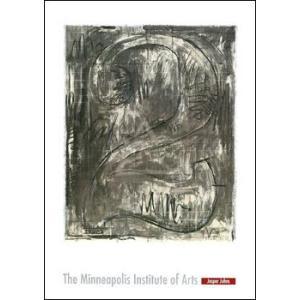 -ジャスパー・ジョーンズ アートポスター-Figure 2, 1963(610×864mm) -おしゃれインテリアに- poster