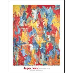 -ジャスパー・ジョーンズ アートポスター-False Start, 1959(711×914mm) -おしゃれインテリアに- poster