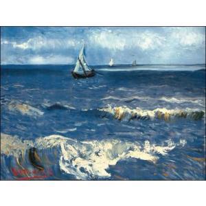 【ゴッホ ポスター】レ・サント・マリー・ド・ラ・メールの海1888年(60cm×80cm)|poster