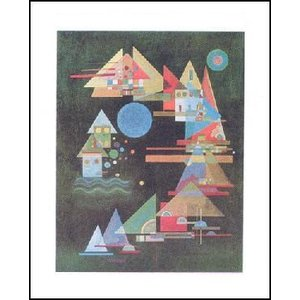 【カンディンスキー ポスター】 弧における多くの尖端(24cm×30cm)|poster