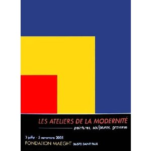 -エルズワース-赤、黄、青 1963年(498×667mm) オフセットリトグラフ -おしゃれインテリアに- poster