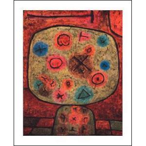 -アートポスター- 石の花 (610x762mm) クレー -おしゃれインテリアに-|poster