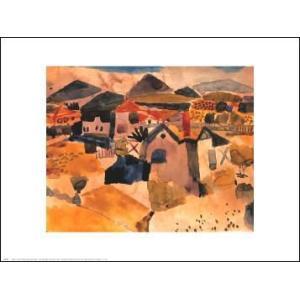 -アートポスター- サンジェルマンの景色 (610x762mm) クレー -おしゃれインテリアに-|poster