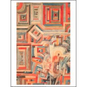 -アートポスター-部分的に破壊した宮殿(610×762mm) クレー -おしゃれインテリアに-|poster
