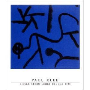 【アートポスター】 クレー 屈折を示す星 1940年 (600×800mm)|poster
