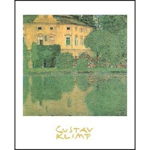 【アートポスター】 アッター湖畔のカンマー城 (24cm×30cm) グスタフ・クリムト|poster