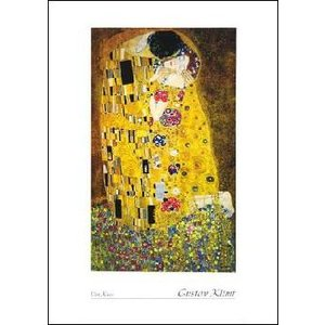 【クリムト ポスター】接吻(50cm×70cm) グスタフ・クリムト|poster