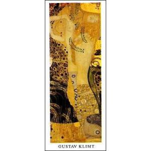 【アートポスター】水蛇 I (294×690mm) グスタフ・クリムト|poster