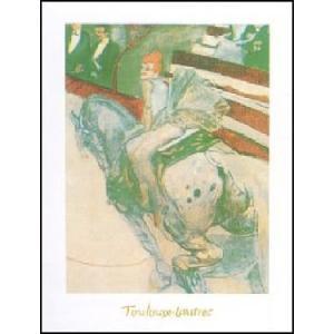【ロートレック ポスター】フェルナンド・サーカスにて(24cm×30cm)|poster