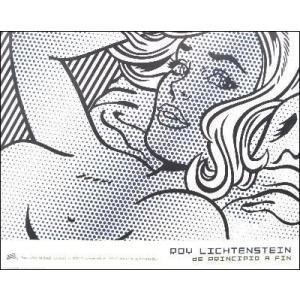 -リキテンスタイン アートポスター-魅惑的な少女 (680×857mm) -おしゃれインテリアに-|poster