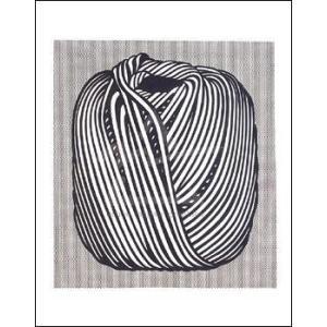 -リキテンスタイン アートポスター-Ball of Twine, 1963(281×358mm) -おしゃれインテリアに-|poster