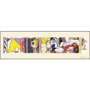 -リキテンスタイン アートポスター-イースト・インテリア1979年(263×730mm) -おしゃれインテリアに-|poster