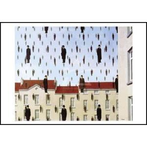 -マグリット アートポスター-Golconde(70×100cm) -おしゃれインテリアに-|poster