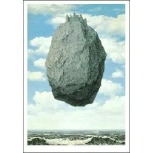 -マグリット アートポスター-ピレネの城(50×70cm) ルネ・マグリット -おしゃれインテリアに-|poster