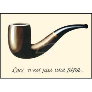 -マグリット アートポスター-イメージの裏切り(50×70cm) ルネ・マグリット -おしゃれインテリアに-|poster