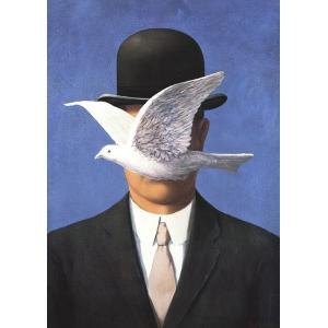-マグリット アートポスター-山高帽子の男(50×70cm) ルネ・マグリット -おしゃれインテリアに-|poster
