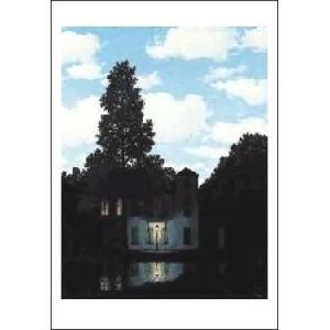 -マグリット アートポスター-光の帝国(50×70cm) ルネ・マグリット -おしゃれインテリアに-|poster