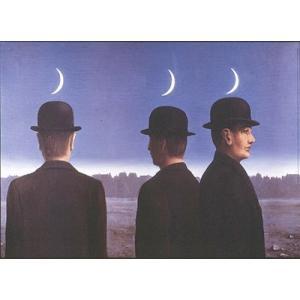 -マグリット アートポスター-傑作あるいは水平線の神秘(50×70cm) ルネ・マグリット -おしゃれインテリアに-|poster