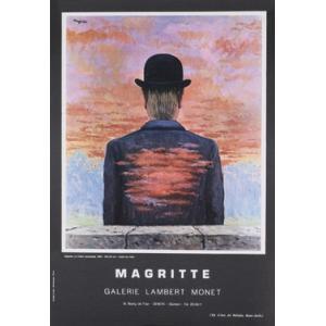 -マグリット アートポスター-詩人の報酬1956年 (449×634mm) ルネ・マグリット -おしゃれインテリアに-|poster