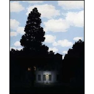 【マグリット ポスター】光の帝国 (281x358mm) ルネ・マグリット|poster