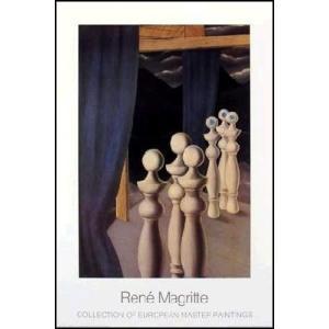 -マグリット アートポスター-会合1926-27年(600×900mm) ルネ・マグリット -おしゃれインテリアに-|poster