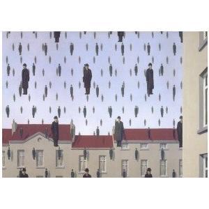 -マグリット アートポスター-Golconde(50×70cm) ルネ・マグリット -おしゃれインテリアに-|poster