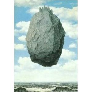 【マグリット ポスター】ピレネの城(420×660mm)【余白無し】 poster