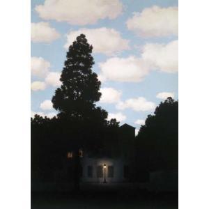 【マグリット ポスター】光の帝国(210×297mm)【A4サイズ】 poster