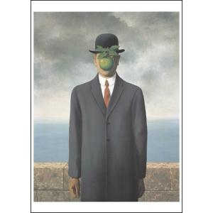 【マグリット ポスター】人の子(50×70cm) ルネ・マグリット poster