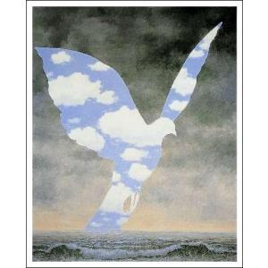 【マグリット ポスター】大家族(700×865mm) ルネ・マグリット poster