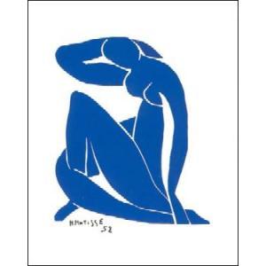 -アートポスター-ブルーヌードII(24cm×30cm) アンリ・マティス -おしゃれインテリアに-|poster