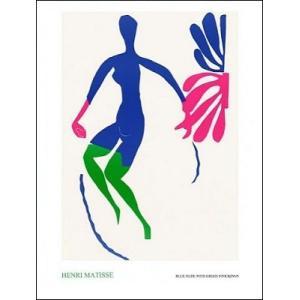 【アートポスター】 緑のストッキングのブルーヌード 60cm×80cm アンリ・マティス|poster